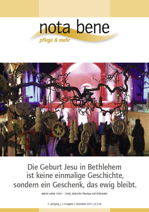 Die Geburt Jesu in Bethlehem ist keine einmalige Geschichte, sondern ein Geschenk, das ewig bleibt.